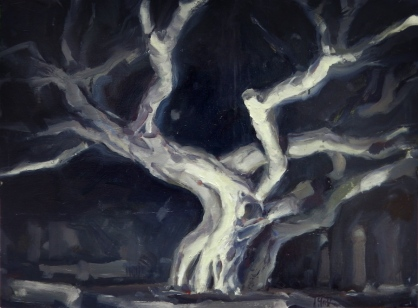 Ghost of a tree