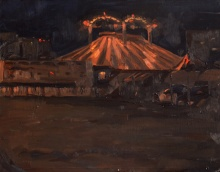 Circus at night