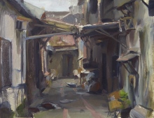 Taiwanese backyard