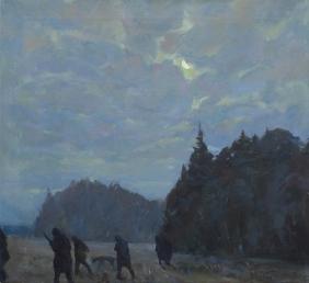 Midnight march - sketch