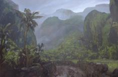 Oil on canvas, 150x85cm, April 2015