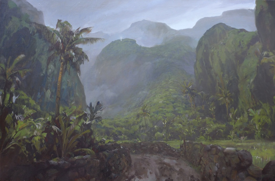 Oil on canvas, 150x85cm, April 2015